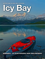 Alaska Sea Kayaking trips Icy Bay sea kayaking trip, Alaska, information ebook.