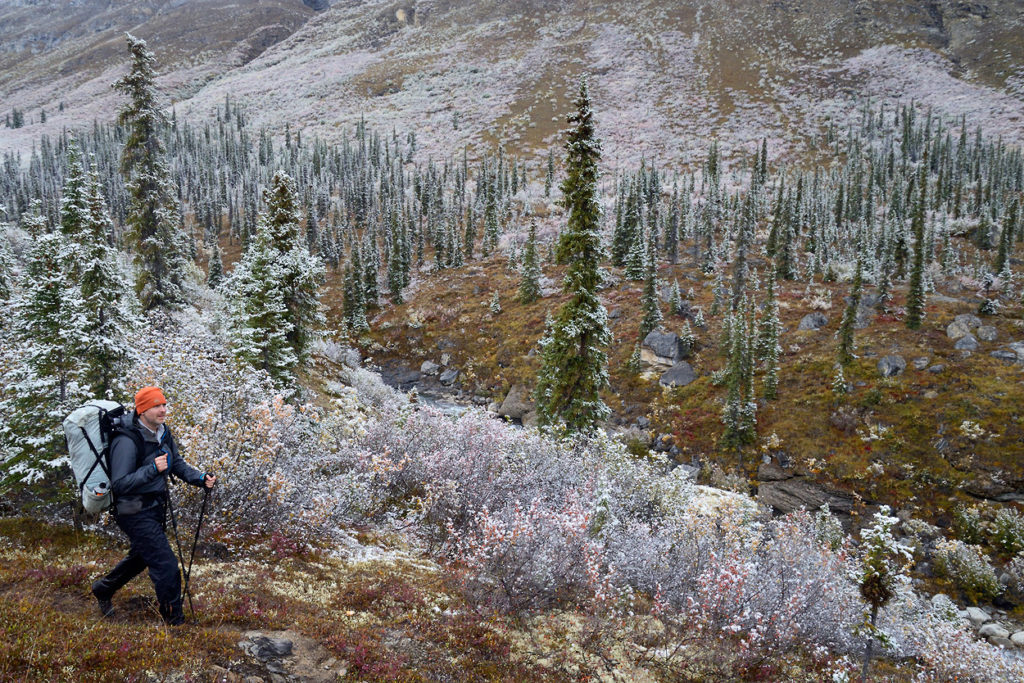 Arrigetch Peaks backpacking trip A fresh snowfall at Arrigetch Peaks Gates of the Arctic National Park, Alaska.