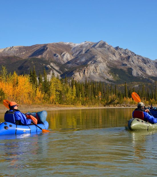Backpacking trips Arrigetch Peaks Packrafting on Alatna River, near Arrigetch Peaks in Gates of the Arctic National Park, Alaska.