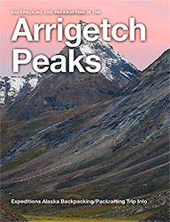 Hiking trip Arrigetch Peaks Arrigetch ebook cover
