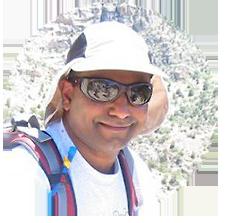 Gitesh, backpacking trip client