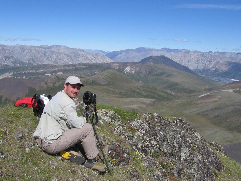 ANWR Alaska backpacking trip, The Brooks Range, Arctic National Wildlife Refuge, Alaska.