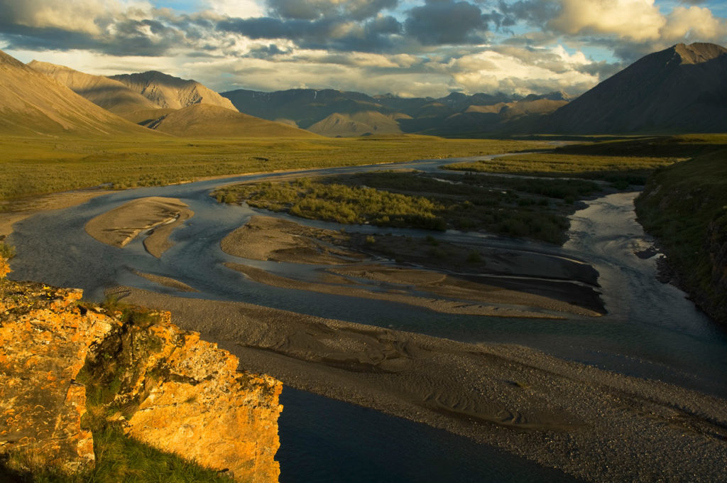 The Canning River of Arctic national Wildlife Refuge trips, ANWR photos, Alaska.
