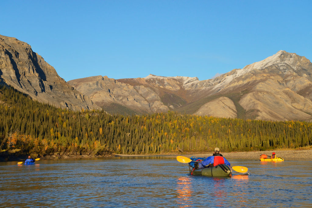 Arrigetch Peaks backpacking trip packrafting the Alatna River and Brooks Range mountain, Gates of the Arctic National Park, Alaska.