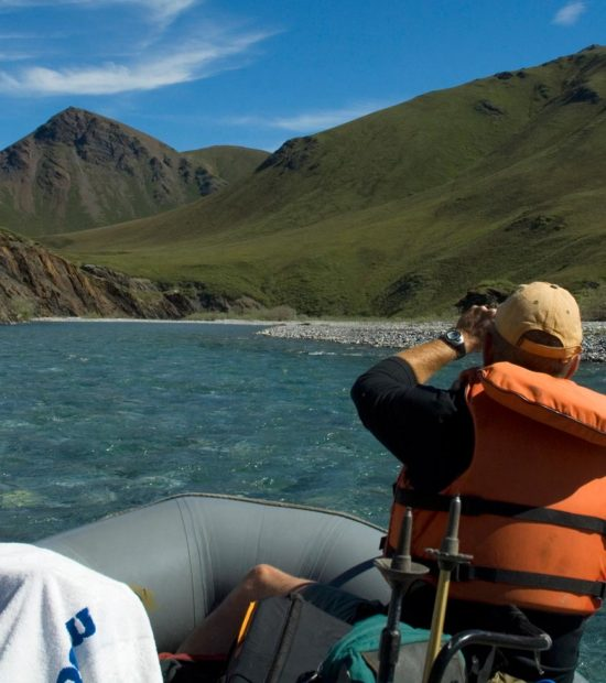 Canning River Rafting trip in ANWR, Arctic National Wildlife Refuge, Alaska rafting tours.