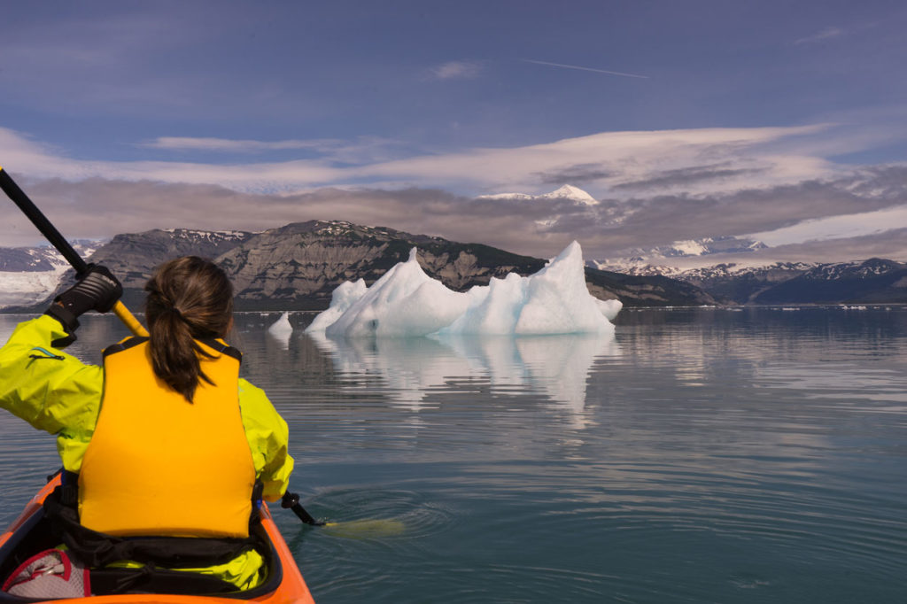 Sea kayaking in Icy Bay 2017